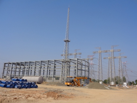 765 kV Gas Insulated Substation, Vadodra