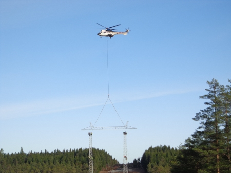 400 kV overhead power line between Hallsberg-Östansjö and Barkeryd